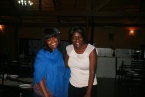 In Lusaka with board member Ru Harcup